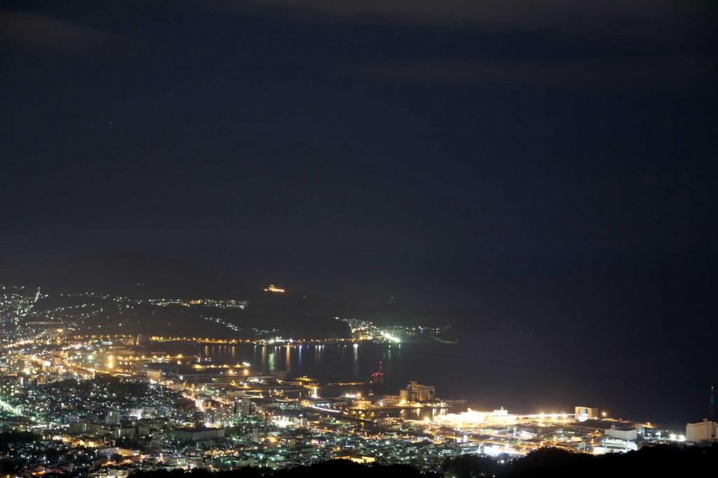 毛無山夜景2