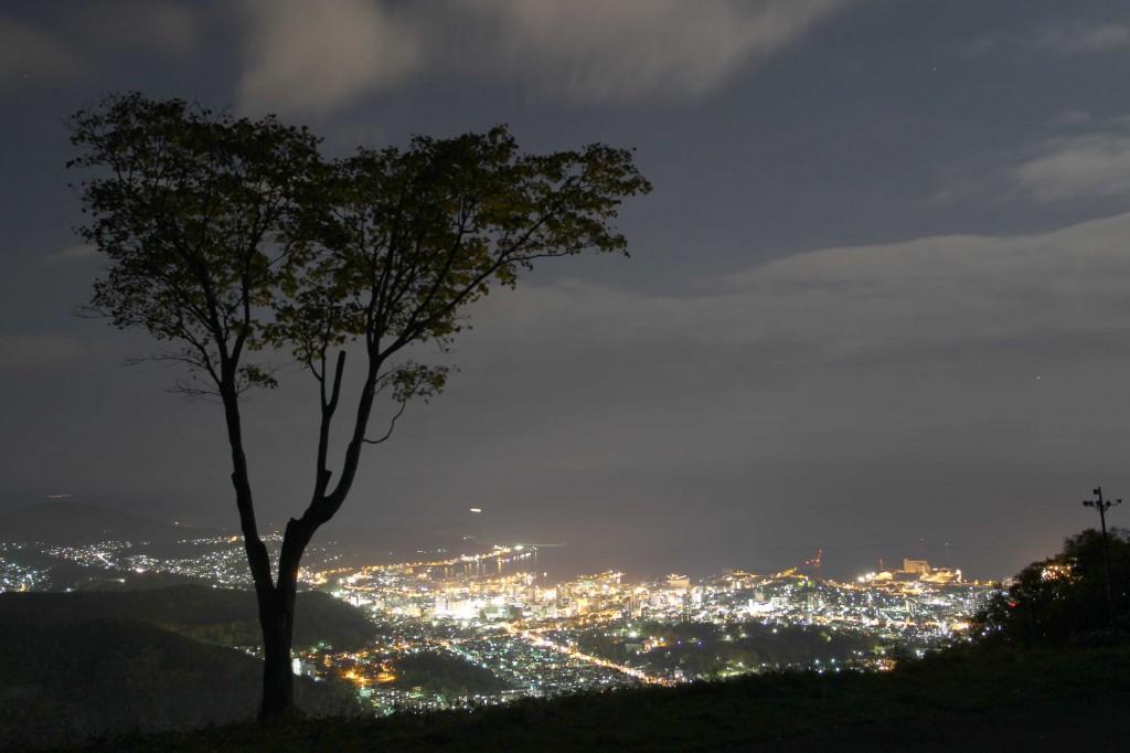 天狗山夜景