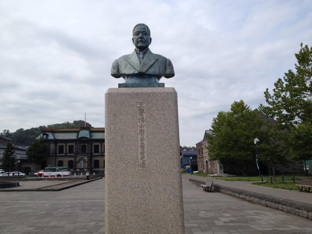 廣井勇銅像