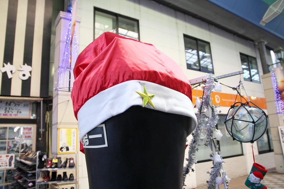 横山靴店クリスマス仕様1