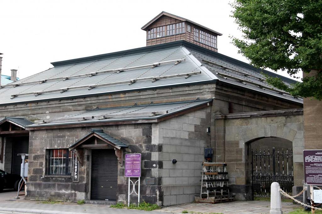 旧日本郵船(株)小樽支店残荷倉庫