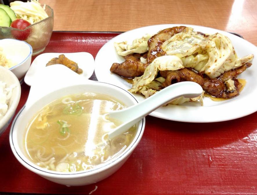 東香楼回鍋肉