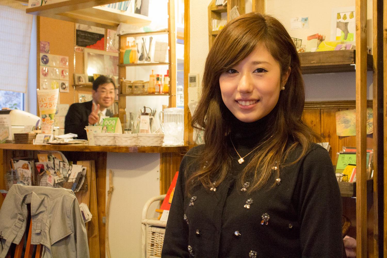 2013年度ミス小樽-斉藤未希さん