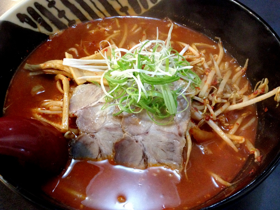京や火炎ら〜麺3倍