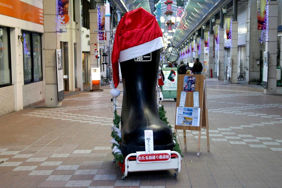 横山靴店クリスマス仕様2