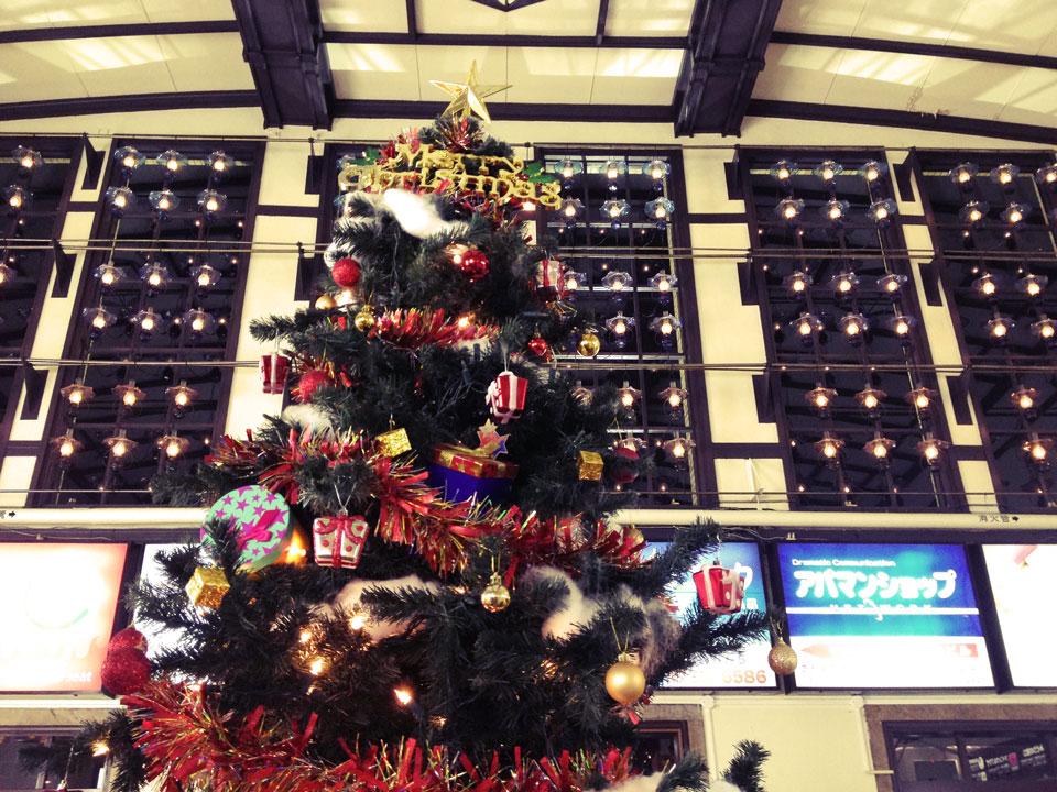 小樽駅クリスマスツリー