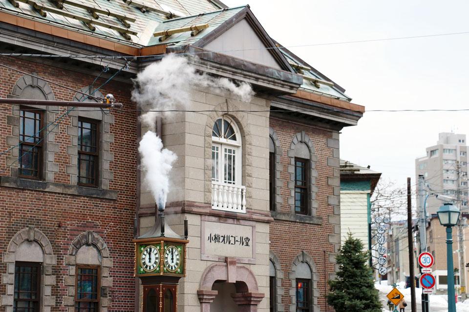 小樽オルゴール堂蒸気時計
