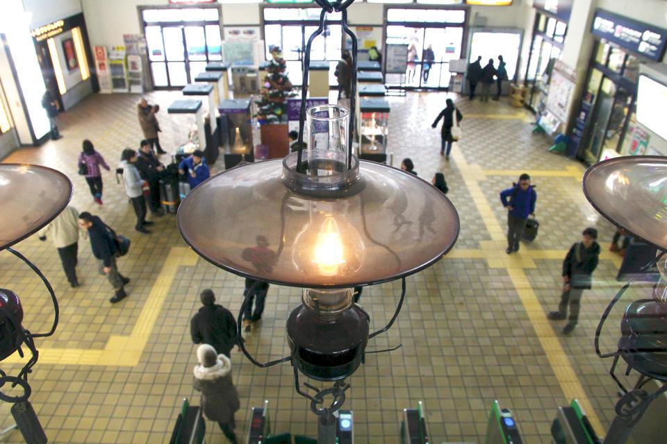 小樽駅ランプ1
