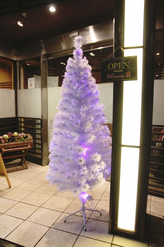 ○月クリスマスツリー