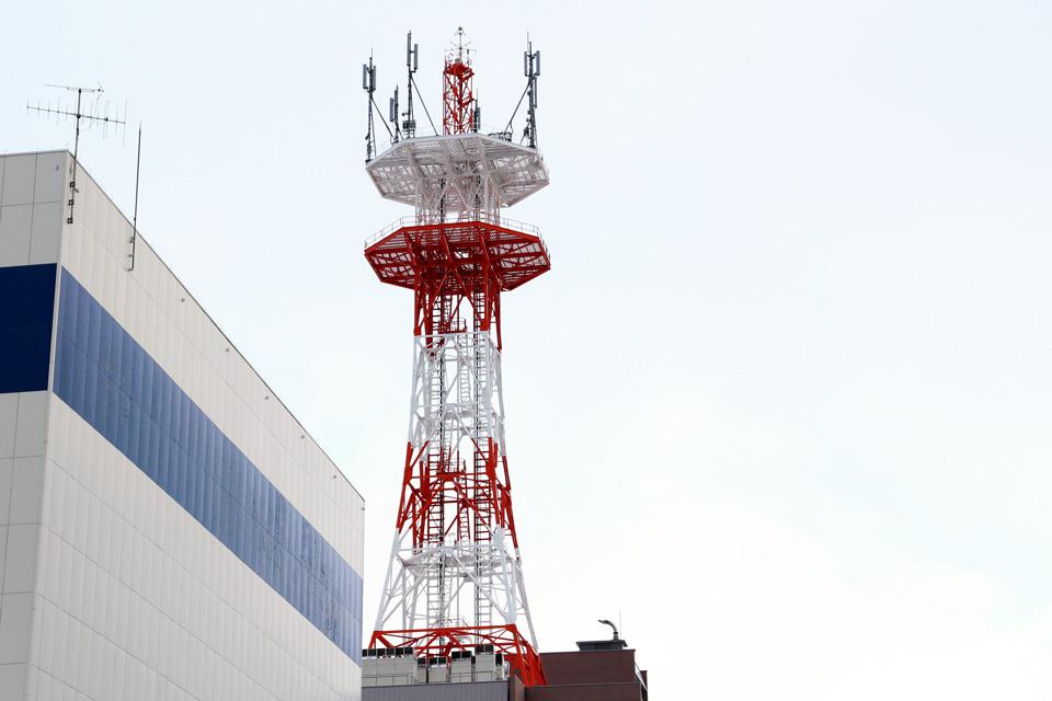 小樽のNTTのタワー