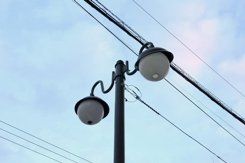 小樽大通り街灯