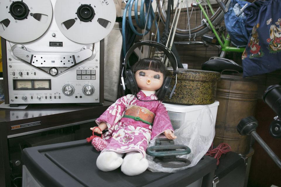 山城中央生花店人形2
