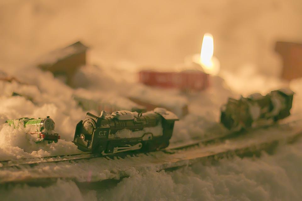小樽雪あかりの路-旧手宮線3
