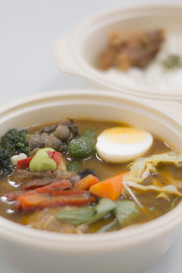celanぱりぱりチキンと野菜のスープカレー