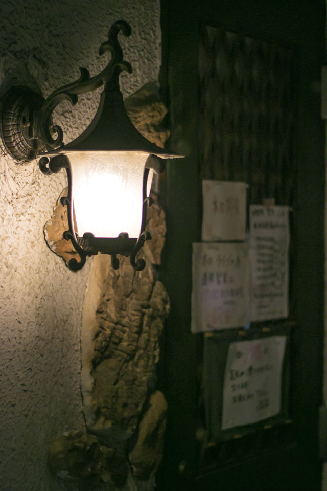 キッチンぐるぐる外灯