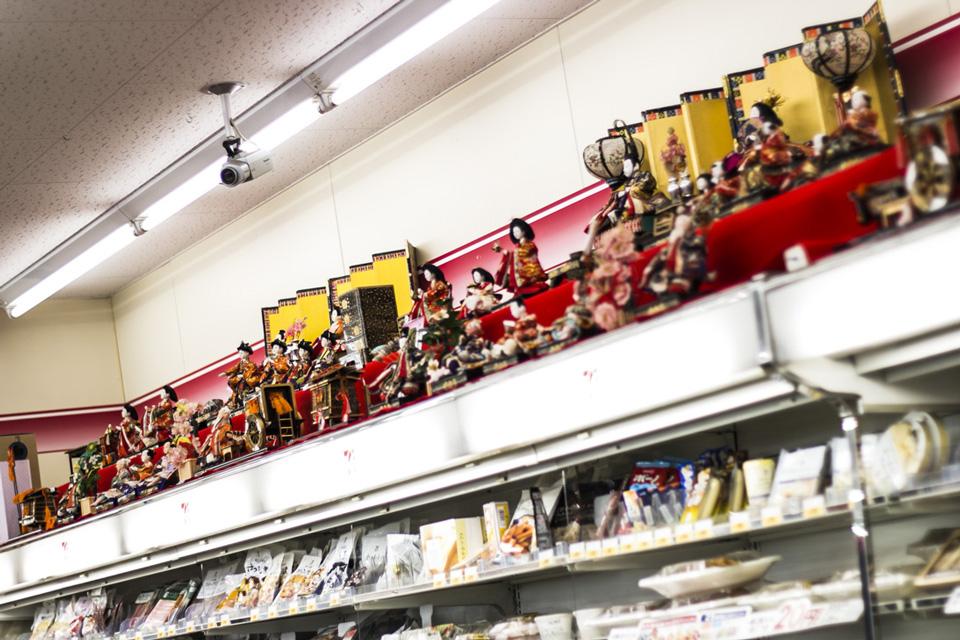 セブンイレブン信香町店-おたる雛めぐりスタンプラリー