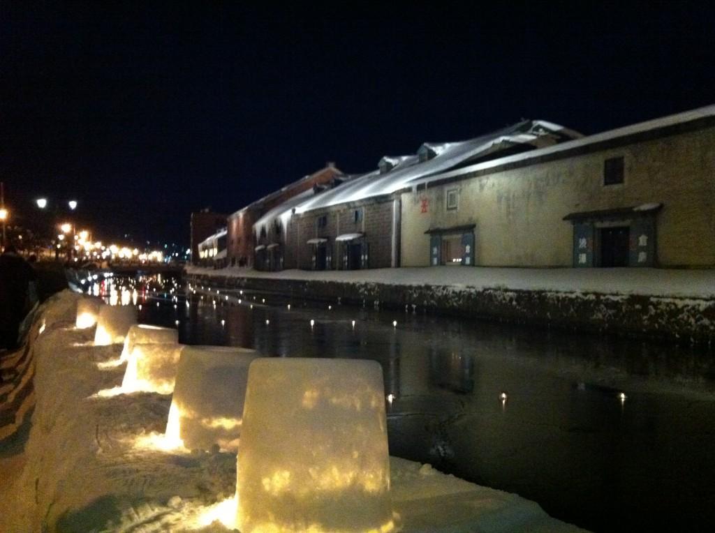小樽雪あかりの路2012 小樽運河会場38