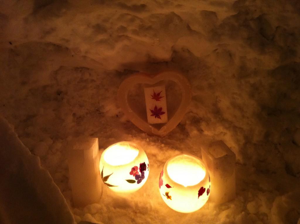 小樽雪あかりの路2012 小樽運河会場6