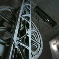 天狗山ロープウェイ機械室