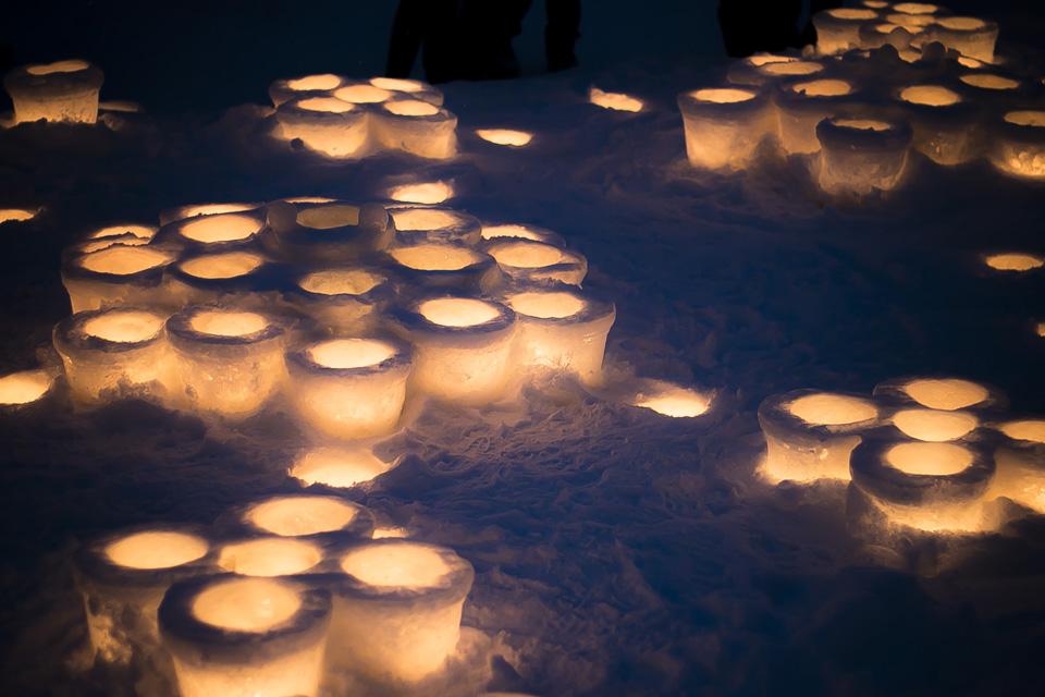 小樽雪あかりの路-旧手宮線2
