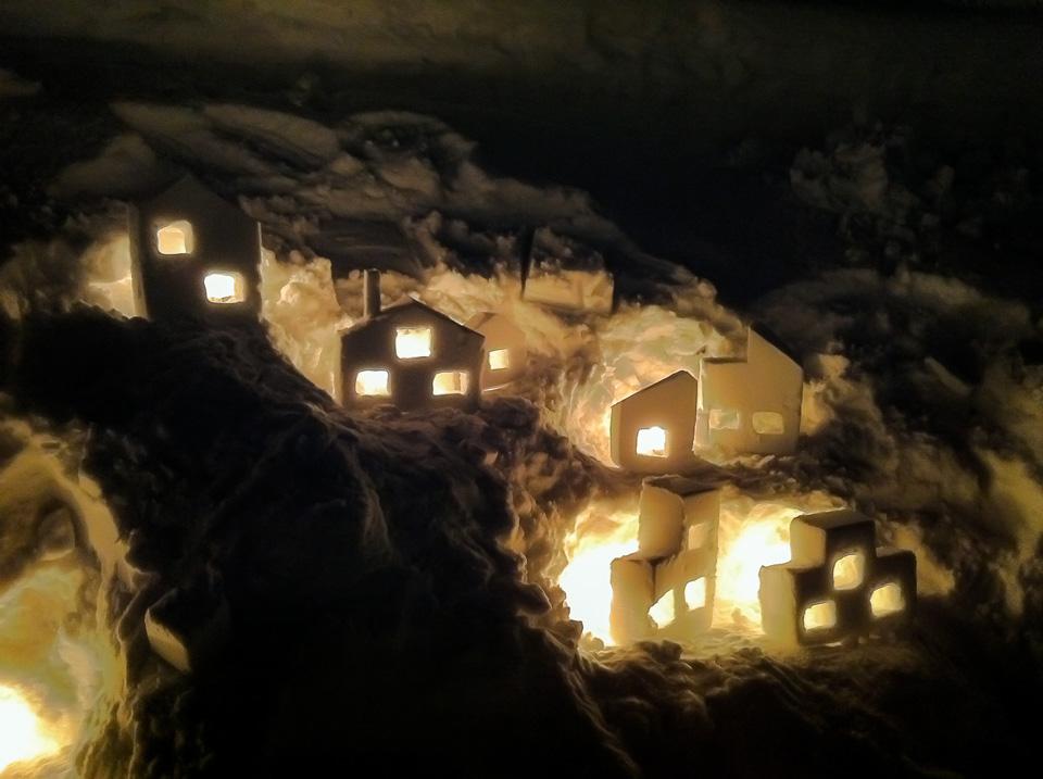 雪あかりの路2012