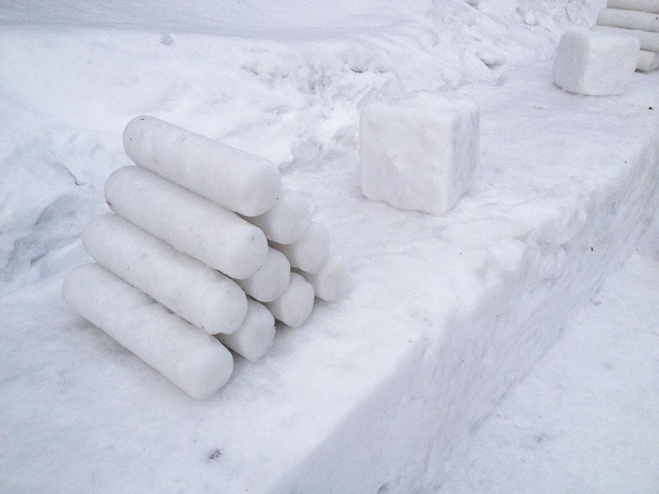 旧手宮線雪あかりの路3