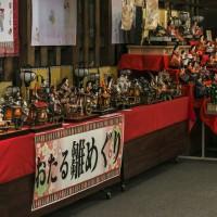 お雛様-田中酒造亀甲蔵