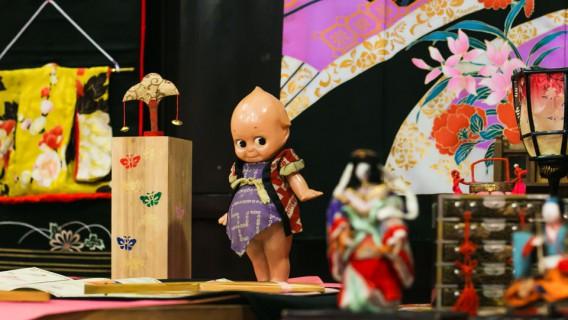お雛様キューピーちゃん-田中酒造亀甲蔵