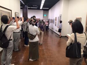 美術館「小樽運河・いまむかし」展