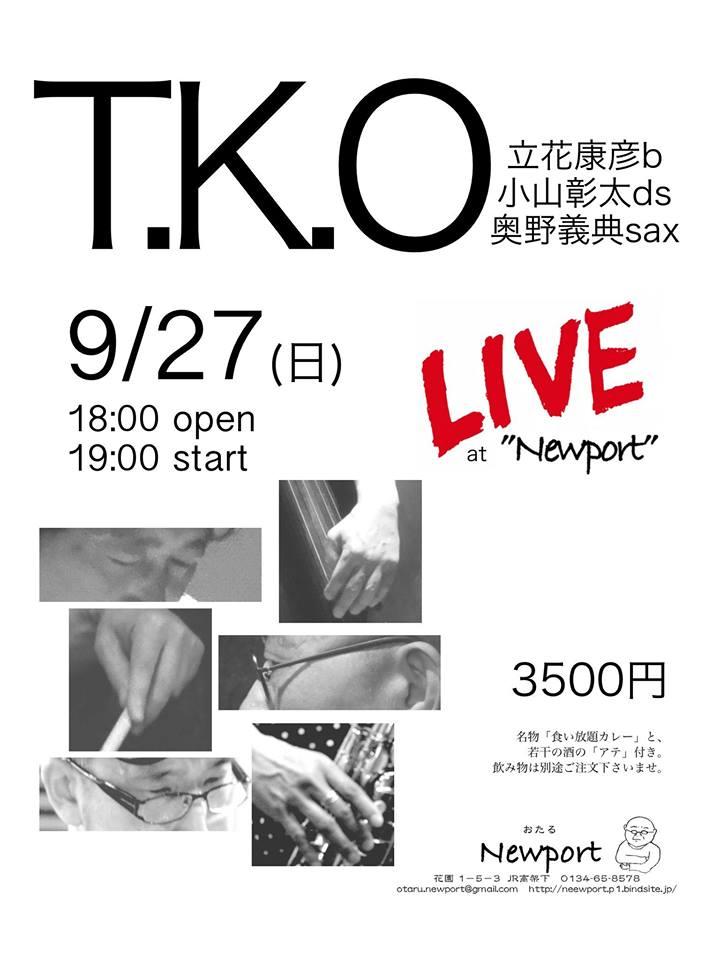 「T.K.O」LIVE