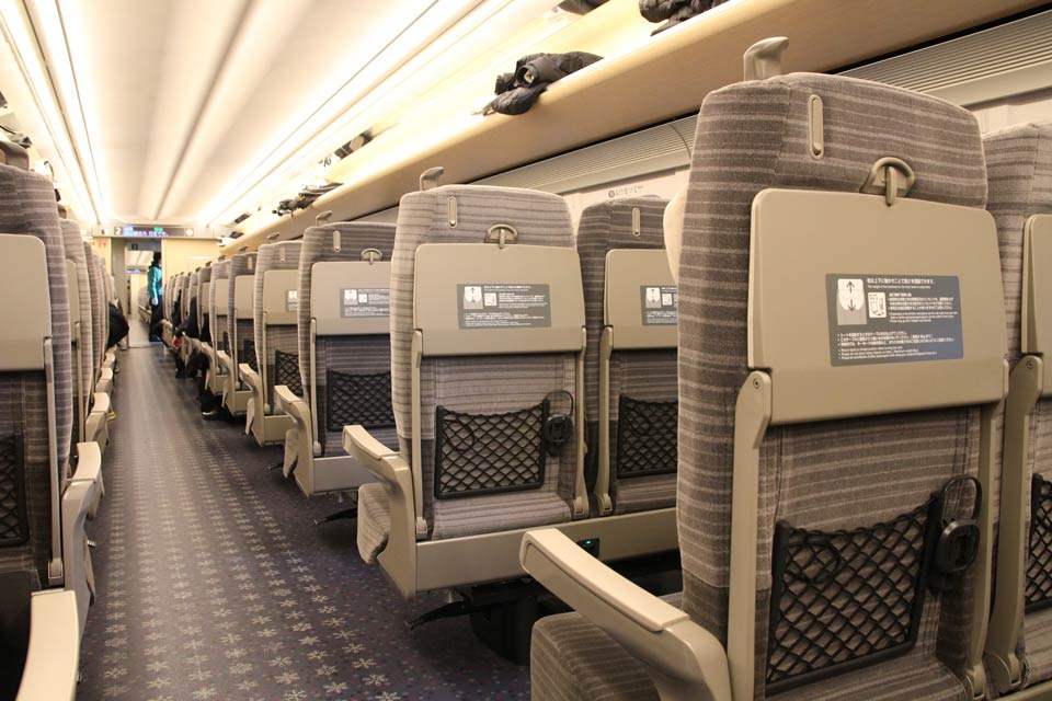 北海道新幹線客室