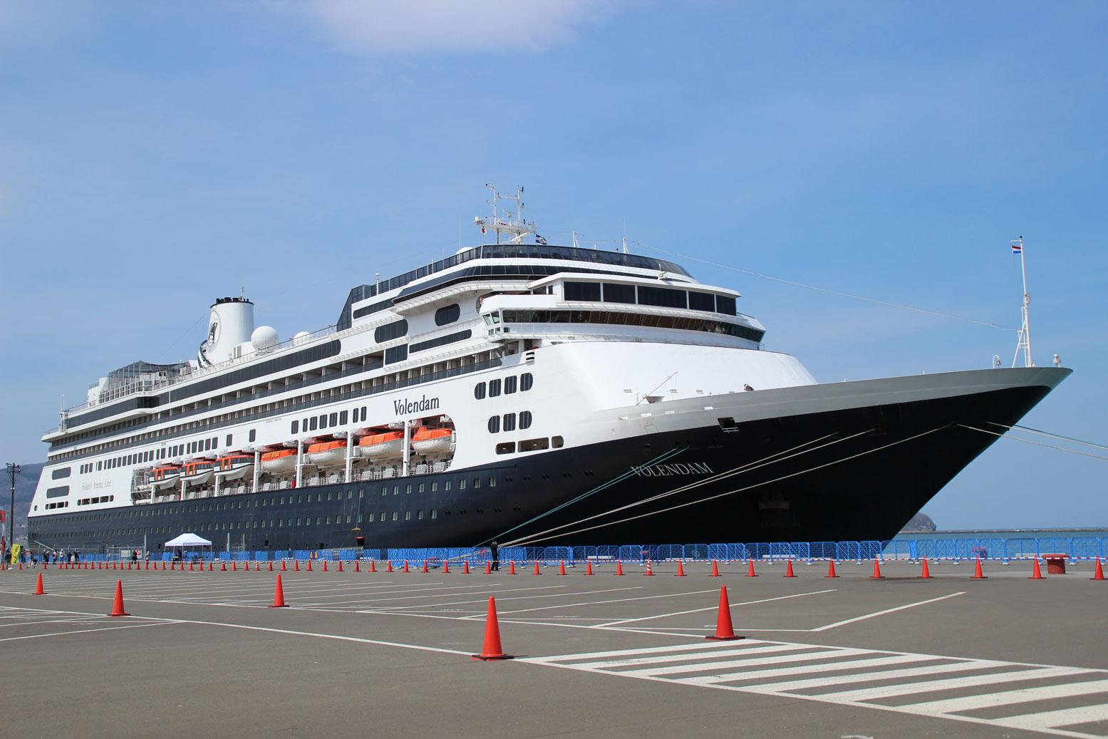 クルーズ客船「フォーレンダム」