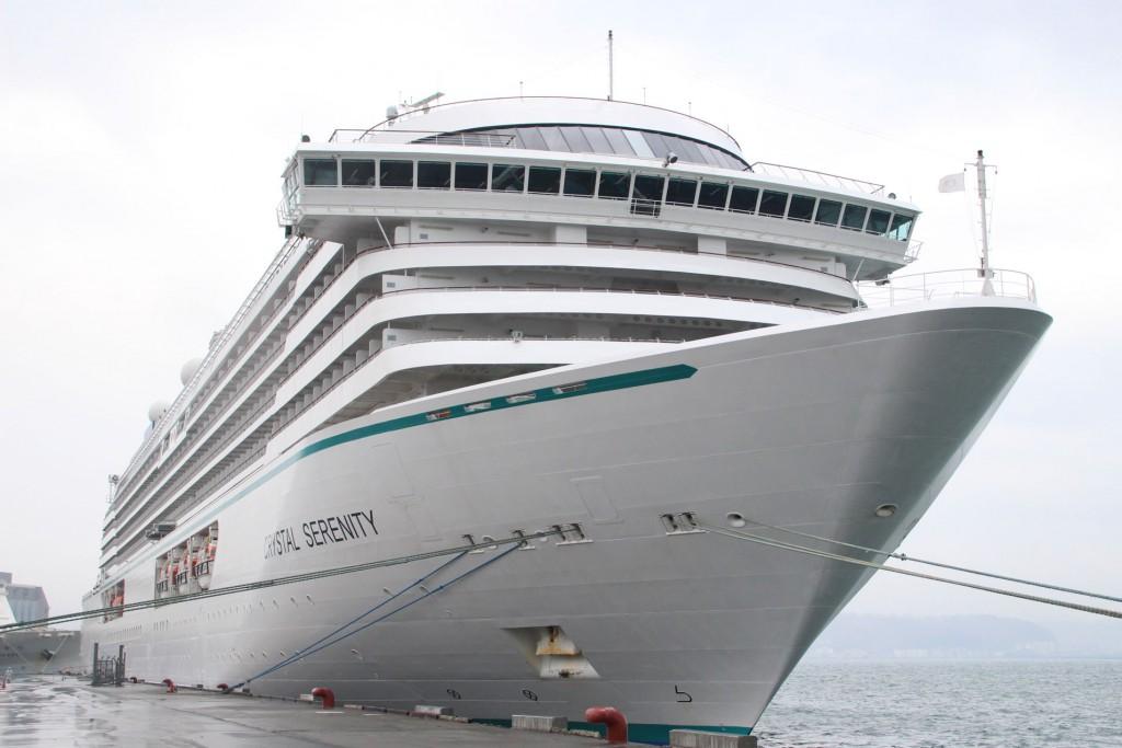 クルーズ客船「クリスタル・セレニティ」