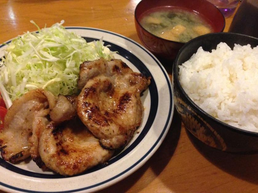 ミレット豚肉味噌漬け定食